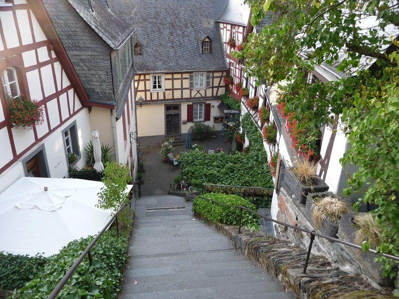 Die Klostertreppe in Beilstein.