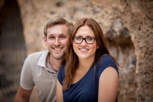 Angelina und Kilian Franzen. Foto: Weingut Franzen