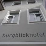 Burgblickhotel-Fassade