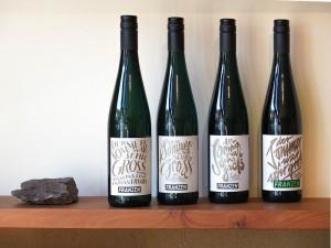 Weinprobe im Weingut Franzen.