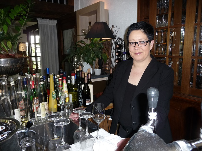 Mosel, Veldenz , Restaurant Rittersturz, Doreen Sömisch