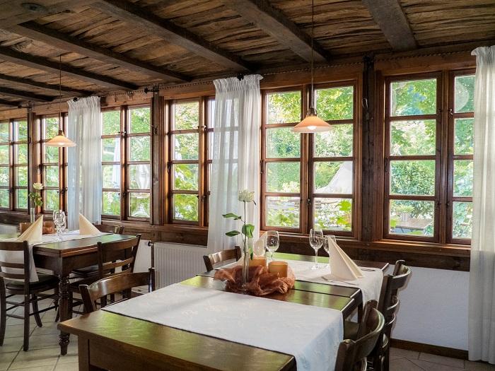 Das Restaurant Rittersturz bietet Platz für 40 Personen.