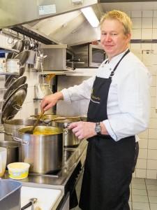 Volker Kruft in seiner Küche im Rittersturz.
