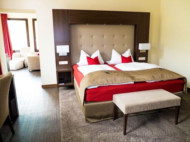 Luxus im Boutique Hotel Villa Melsheimer.