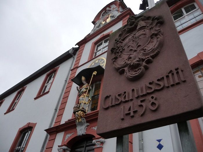 Das St. Nikolaus Hospital in Kues.
