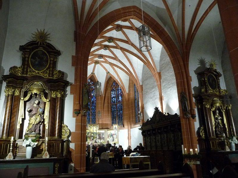 Die Kapelle im St-Nikolaus-Hospital.Hier wurde das Herz von Cusanus beigesetzt