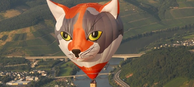 """Ballon """"made in Schweich"""": Glück ab, gut Land"""