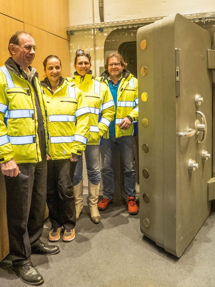 Team vom Bundesbank Bunker Cochem