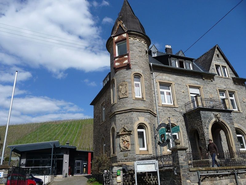 Mosel, Weingut Immich-Anker, Villa