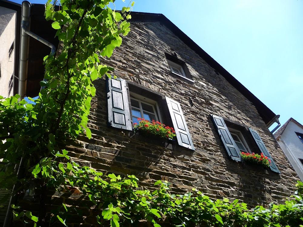 Ein Haus in Beilstein.