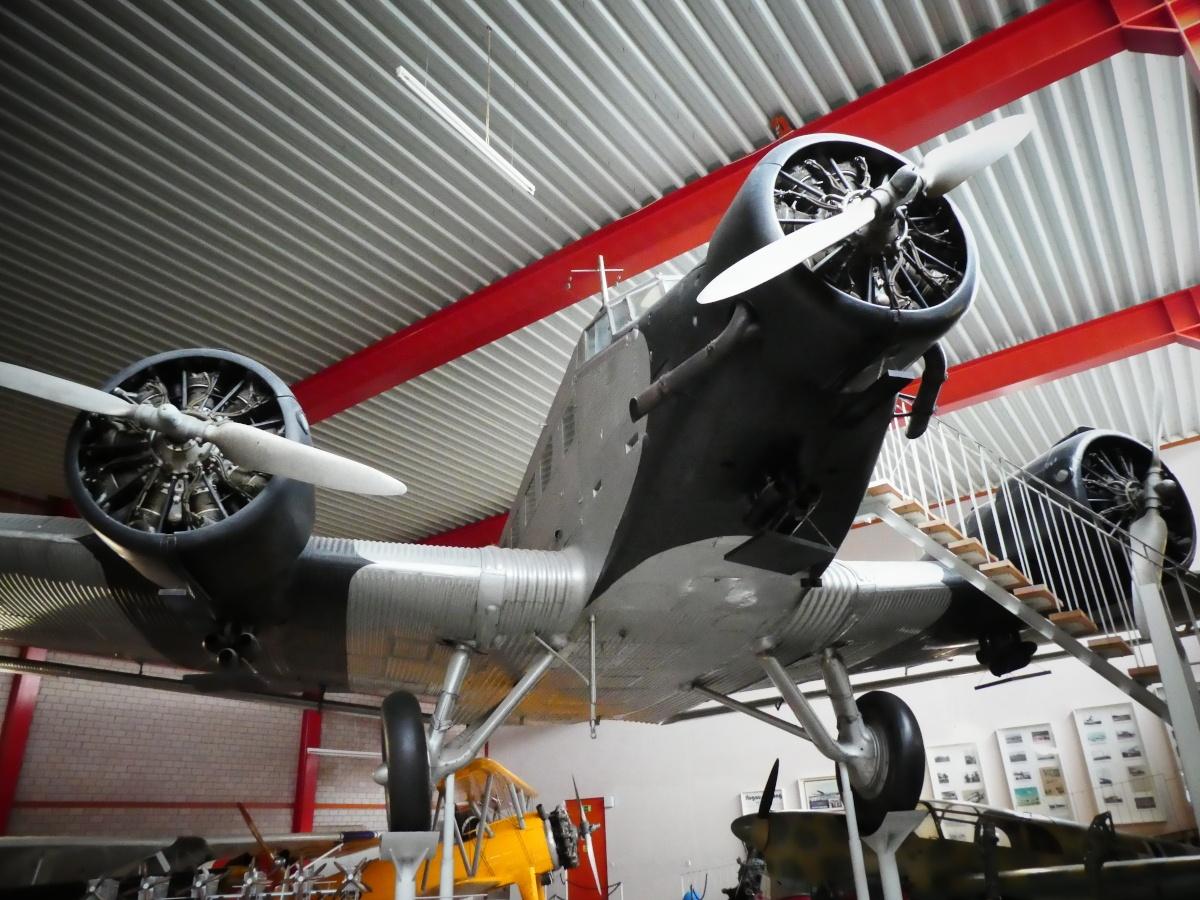 Junkers Ju-52, Flugausstellung, Hermeskeil