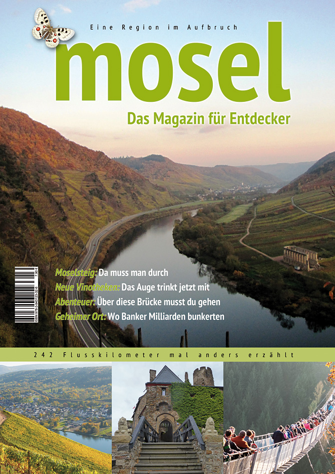 Mosel - Das Magazin für Entdecker, Cover