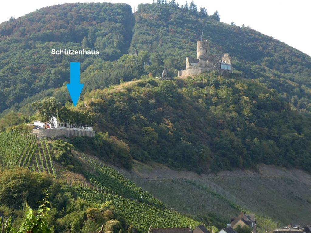 Schützenhaus, Bernkastel, Burg Landshut