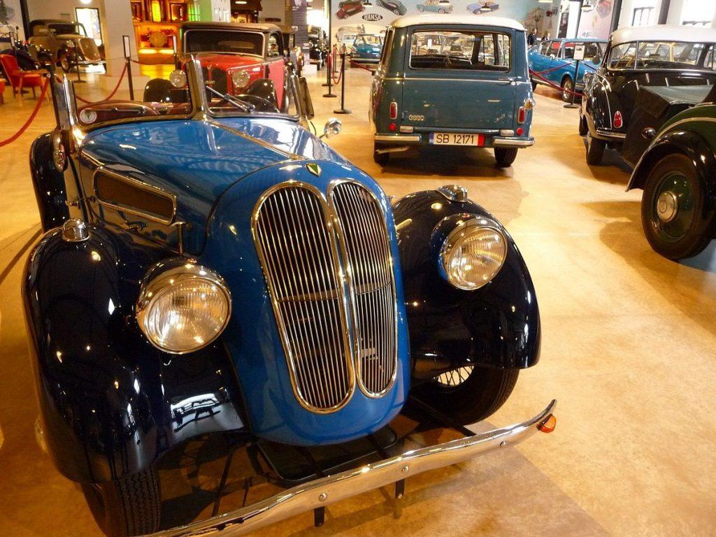Zylinderhaus, Bernkastel, DKW-Roadster