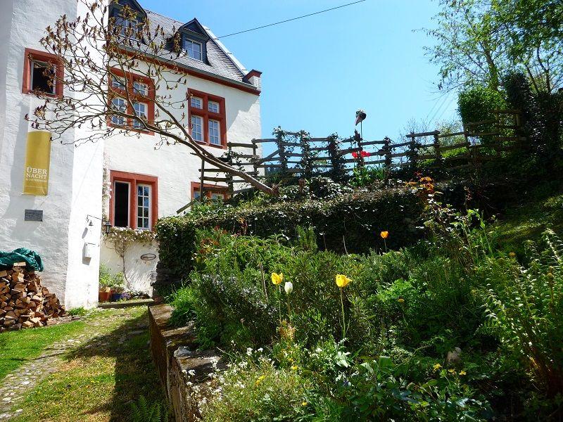 Mosel-Camino, Pilgerherberge, Garten