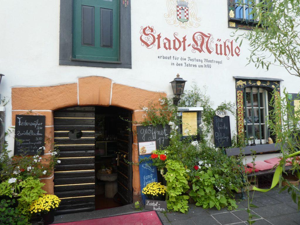 Alte Stadtmühle, Restaurant, Traben-Trarbach