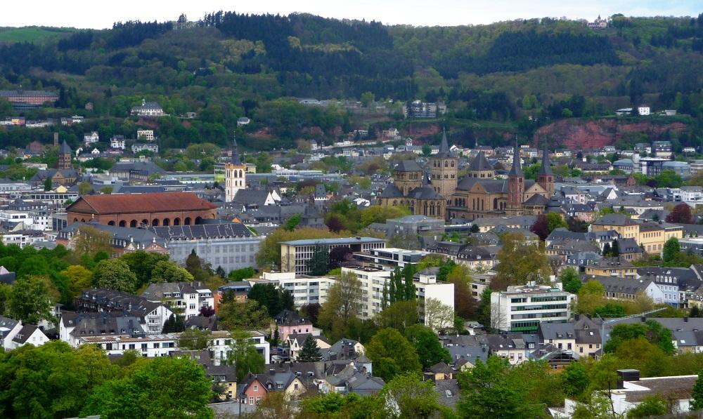 Trier, Konstantin-Basilika, Aussichtspunkt, Petrisberg