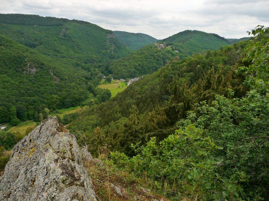 Veldenz, Aussichtspunkt Rittersturz
