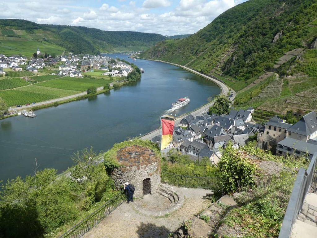 Burg, Beilstein, Aussicht
