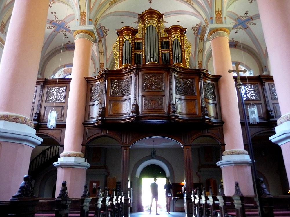 Die Karmeliterkirche in Beilstein.