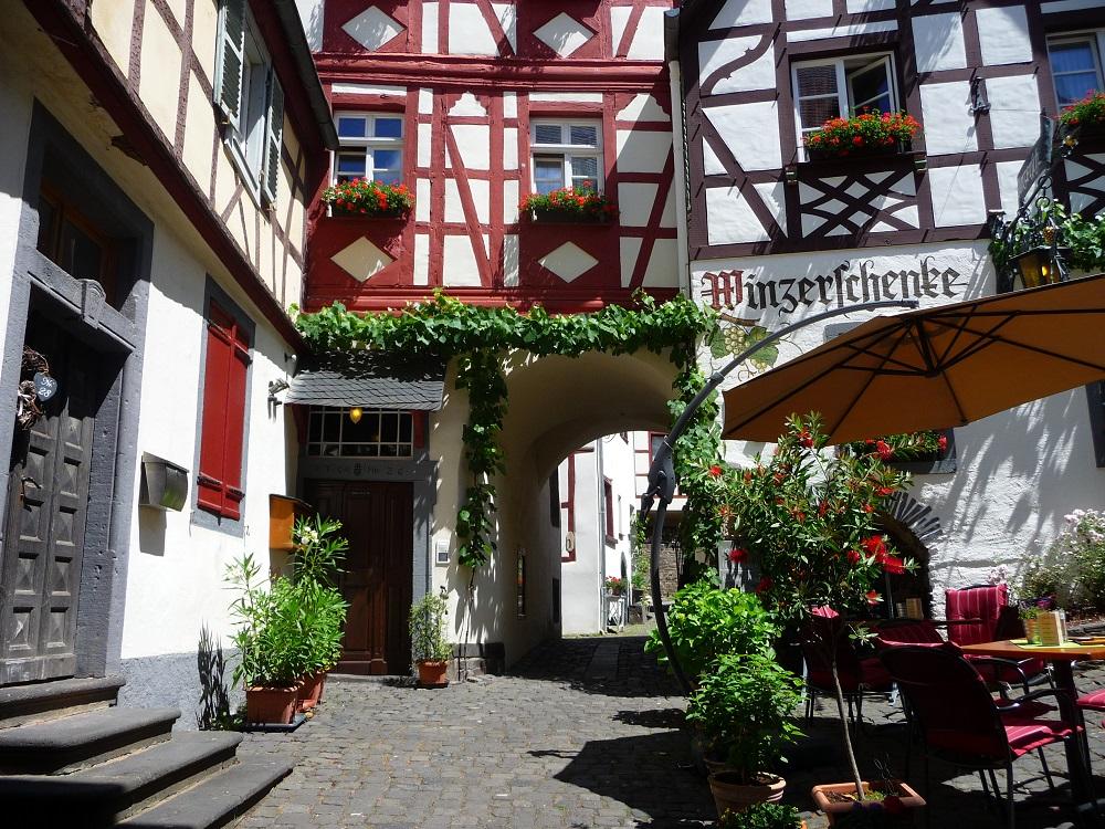 Beilstein, beliebte Moselorte, Winzerschänke