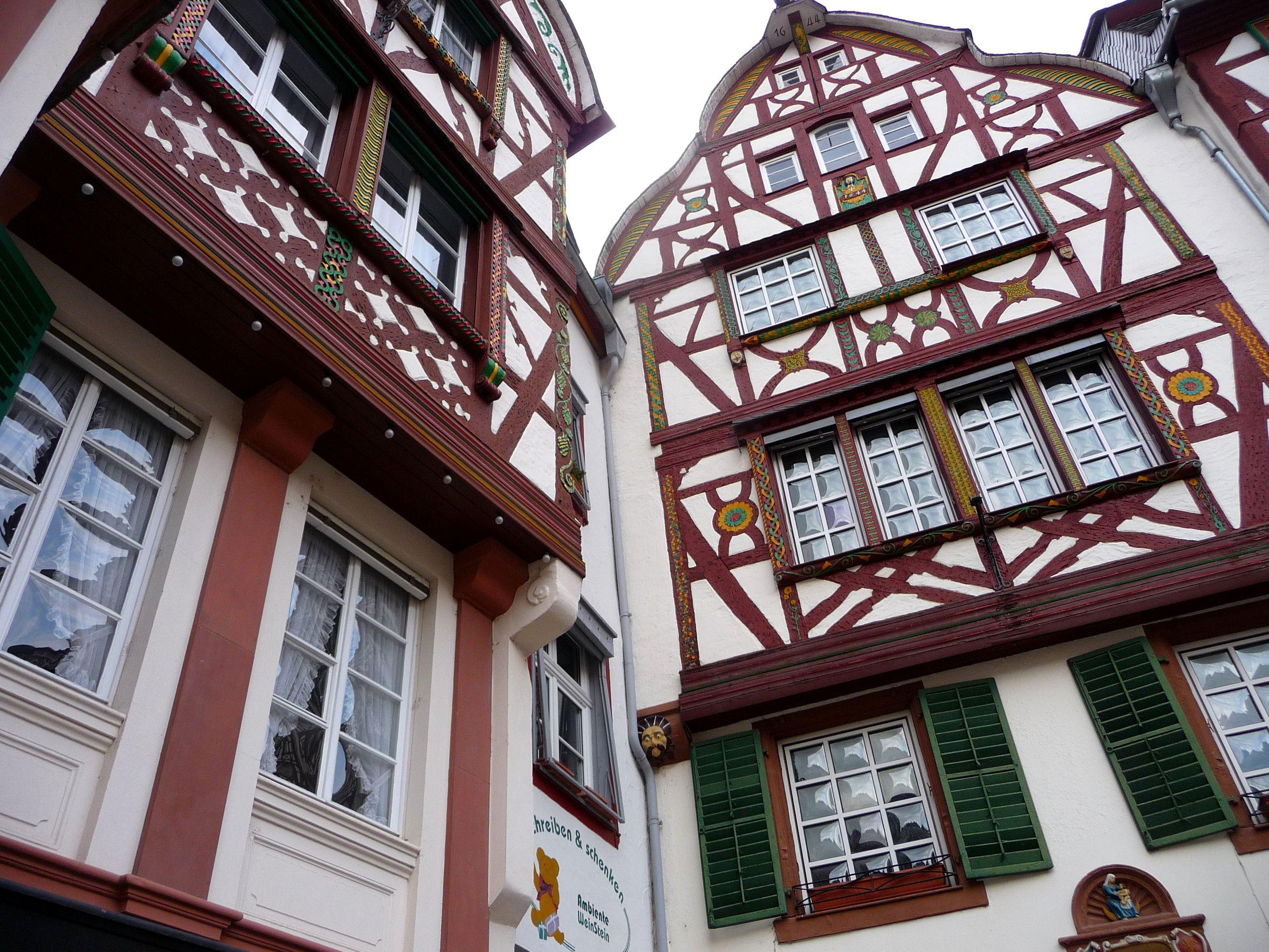 Bernkastel, Marktplatz, Fachwerk