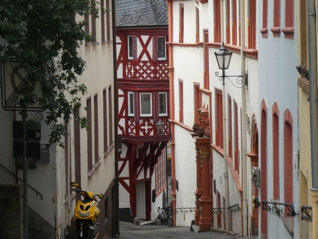 Bernkastel-Kues, Altstadt, Gasse