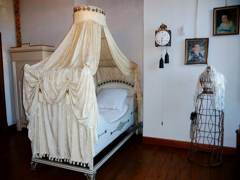Ein Schlafzimmer im Mittelmosel-Museum