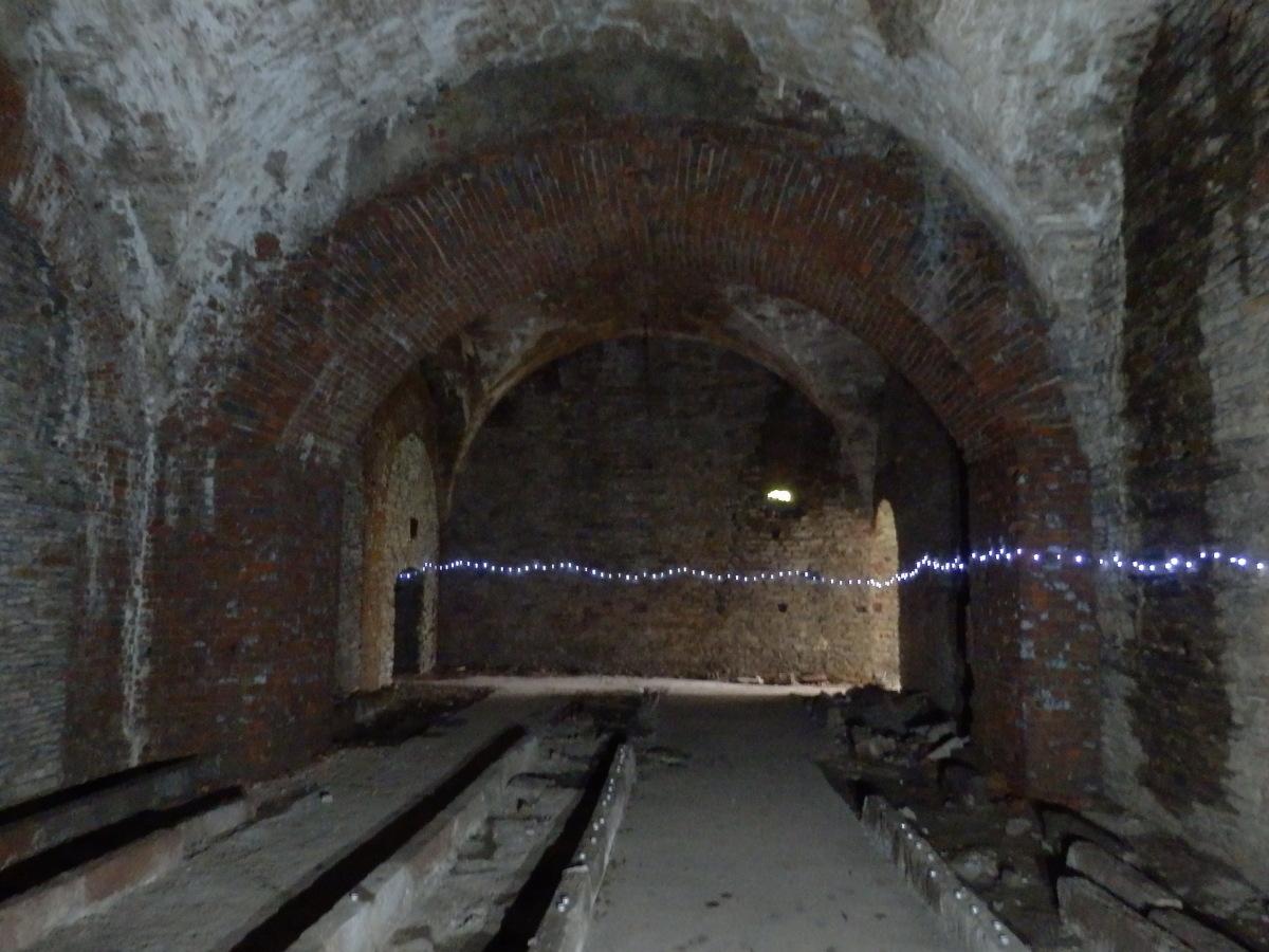 Mesenich, Brauerei-Ruine, Keller
