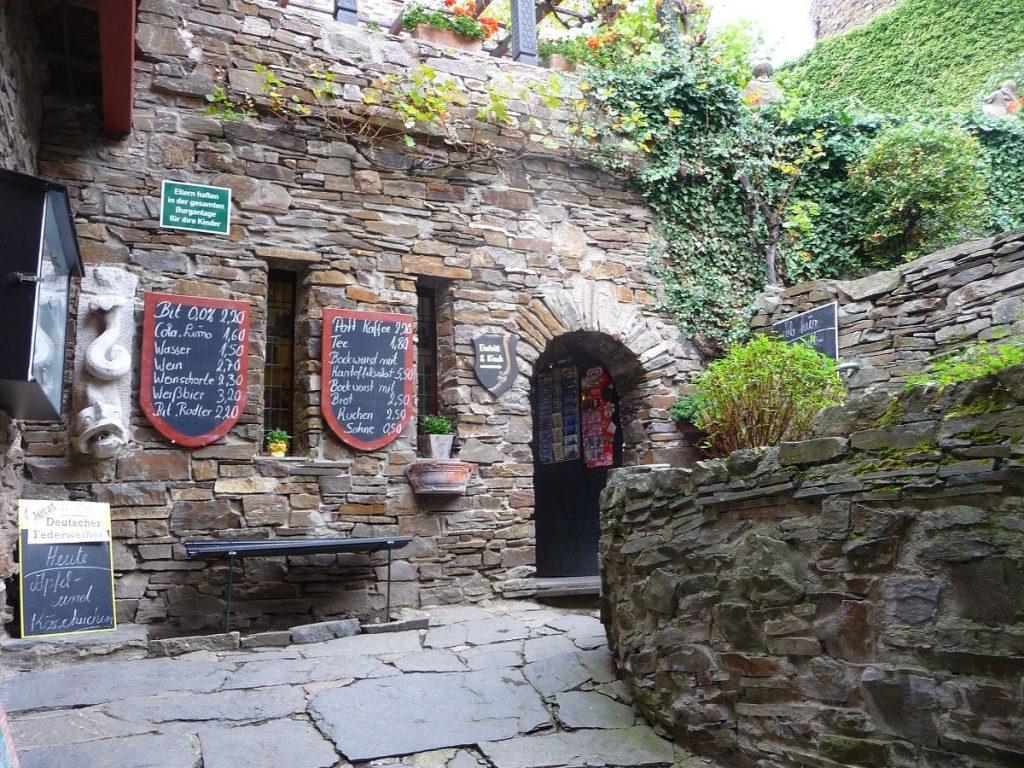Burg Thurant, Kassenhaus, Kiosk