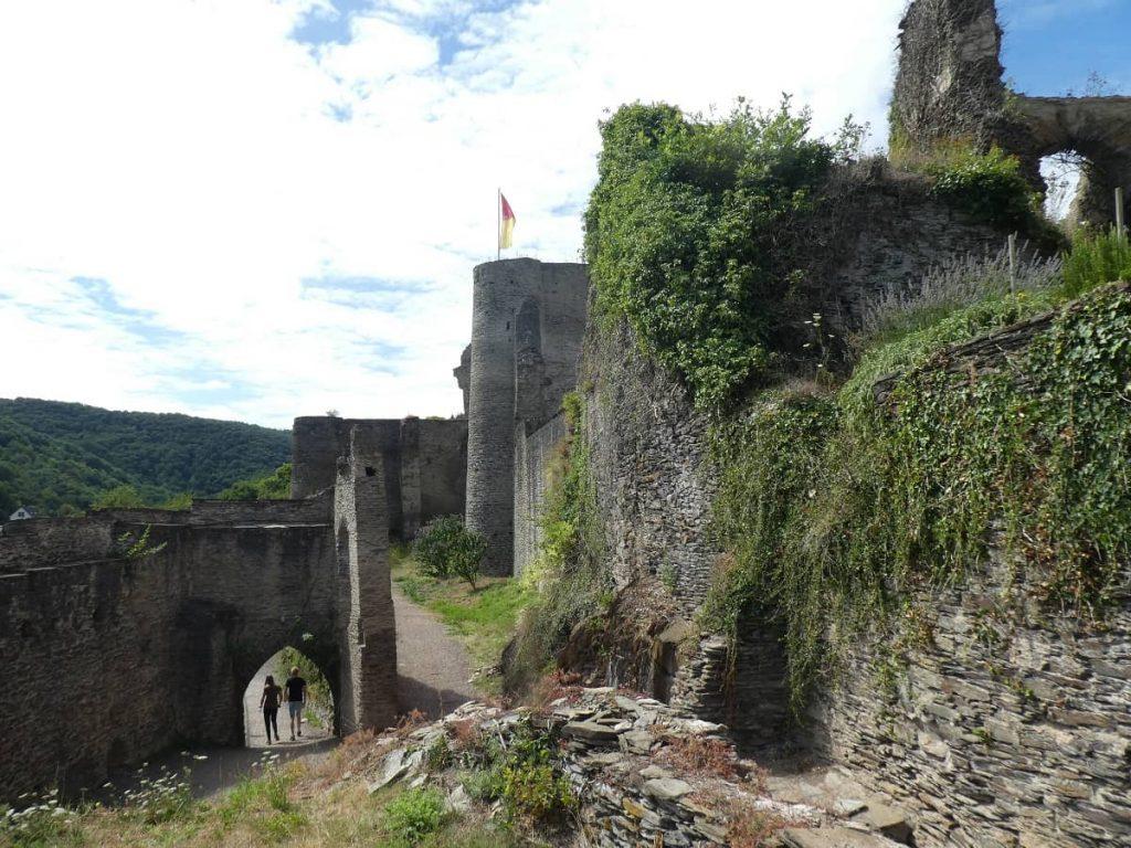 Ruine, Burg, Mosel