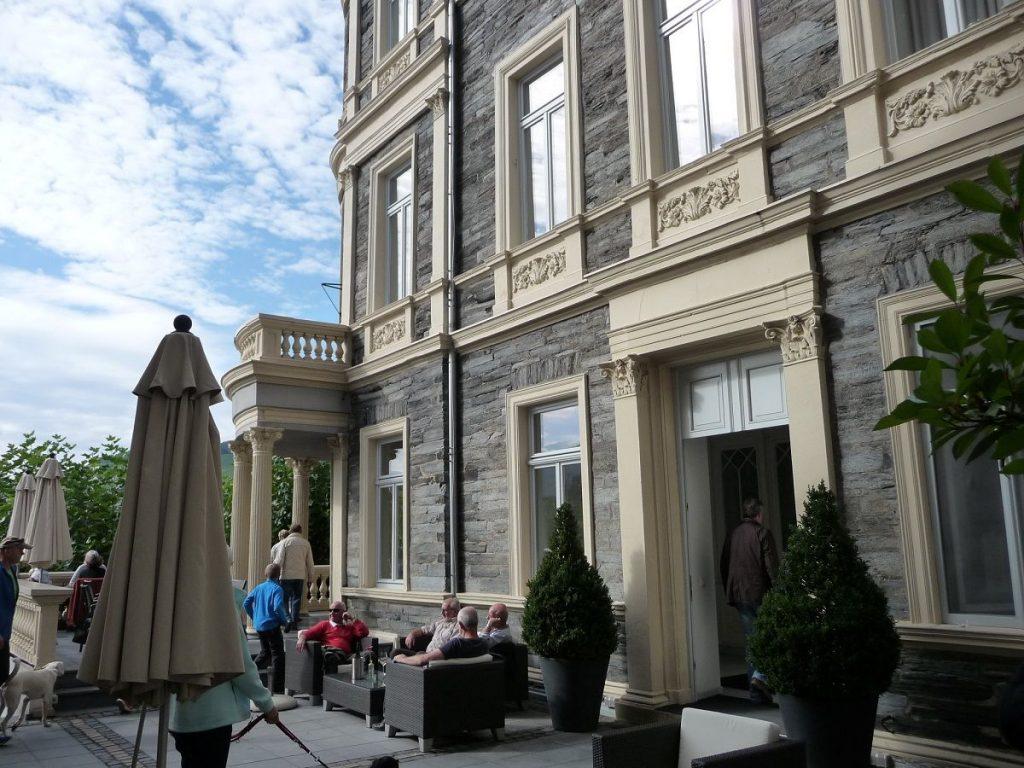 Café K, Bernkastel-Kues, Terrasse