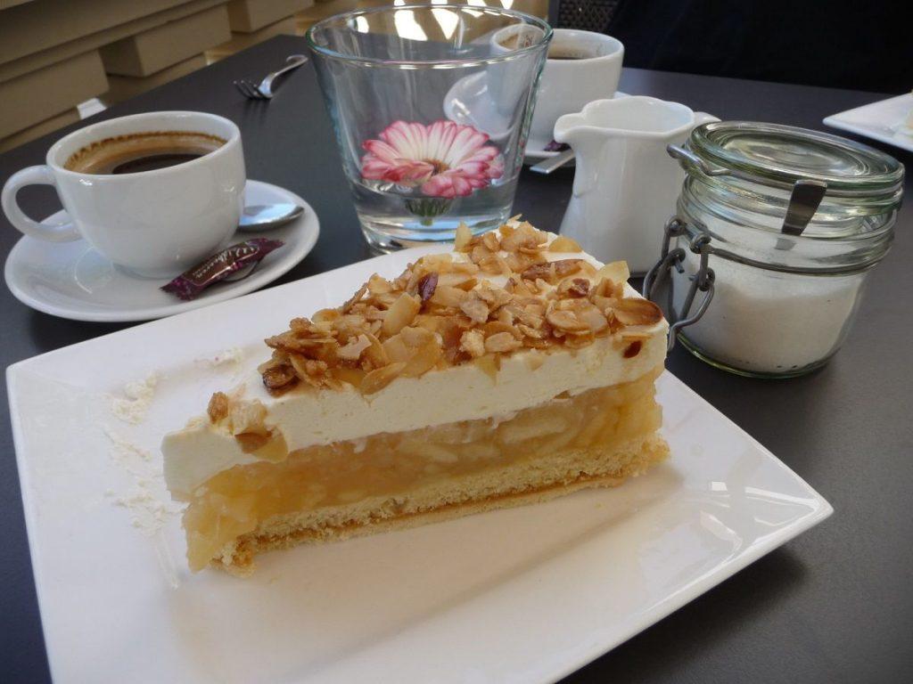 Café K, Bernkastel, Apfeltorte