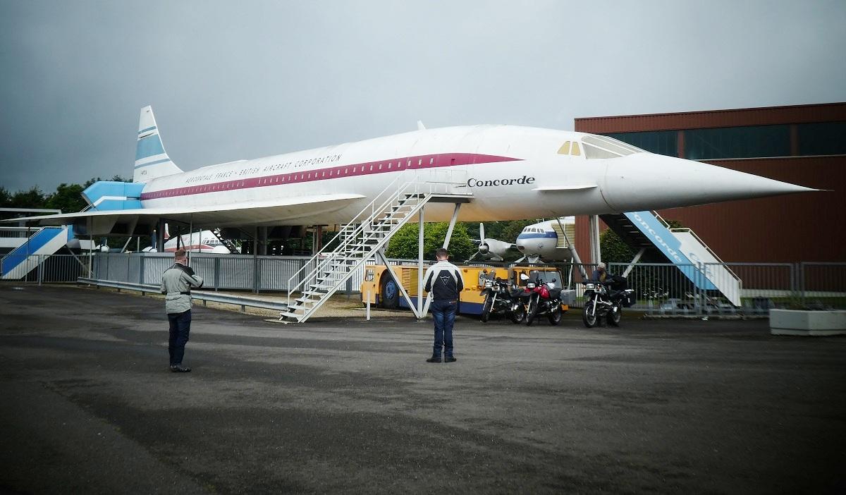 Concorde, Replik, Hermeskeil