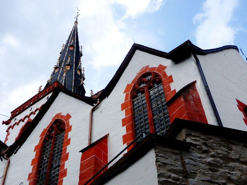 Der Kirchturm in Ediger