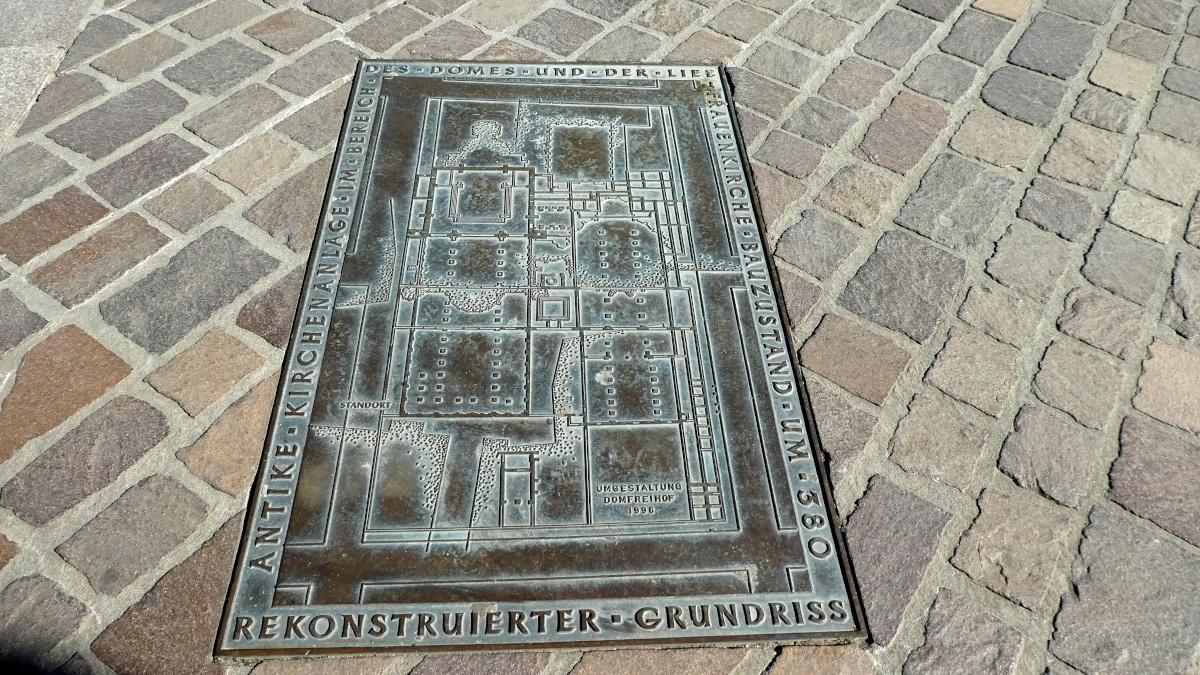 Grundriss, Trier Dom, um 380