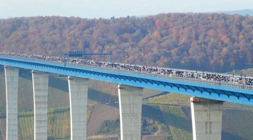 Hochmoselbrücke: So entstand der Brücken-Gigant