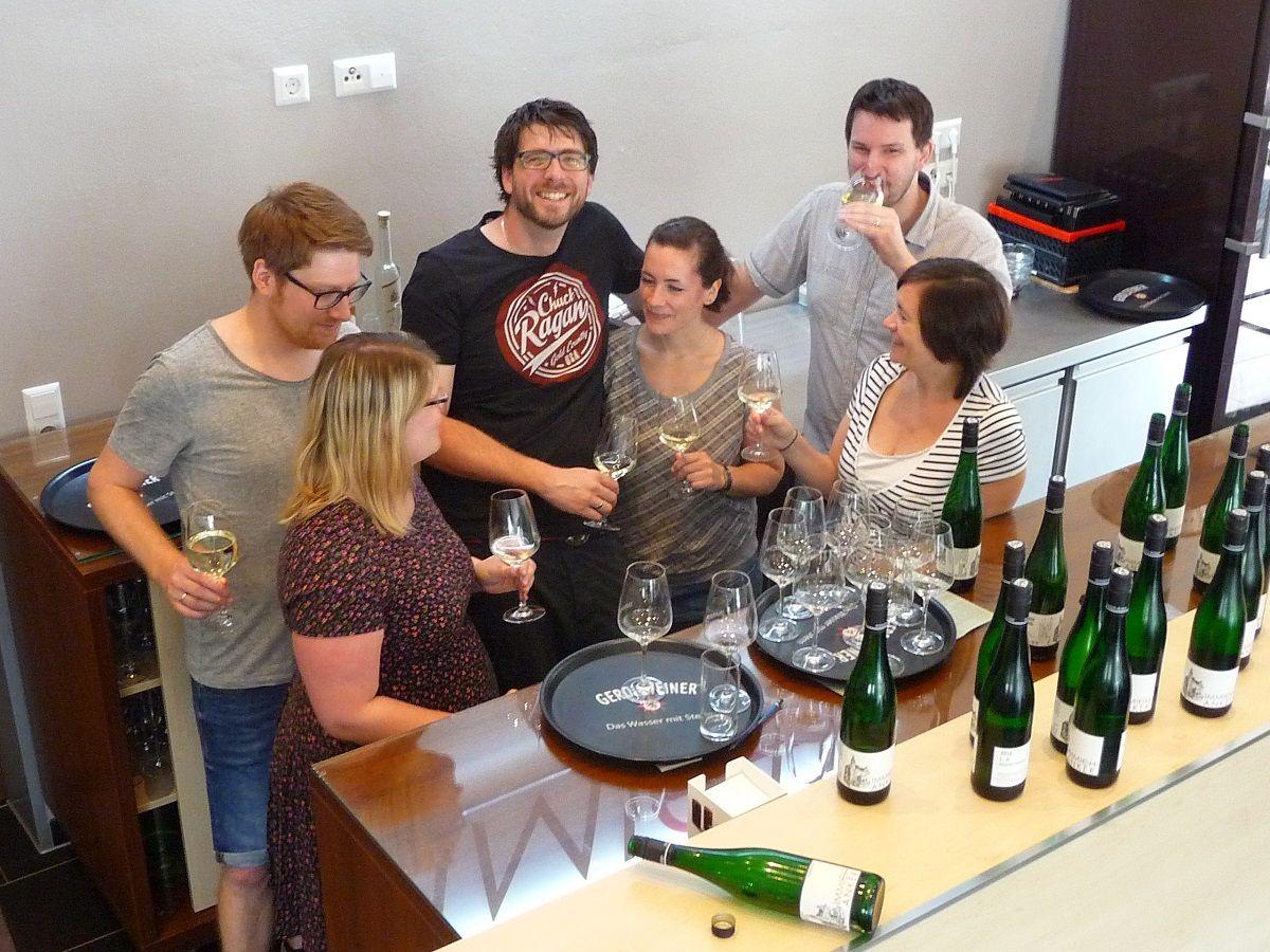 Mosel, Weingut Immich-Anker, Weinprobe