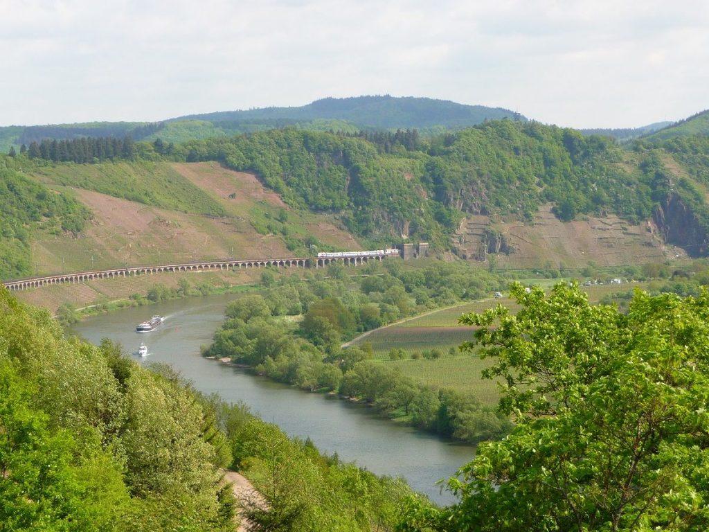 Moselweinbahn, Kanonenbahnstrecke