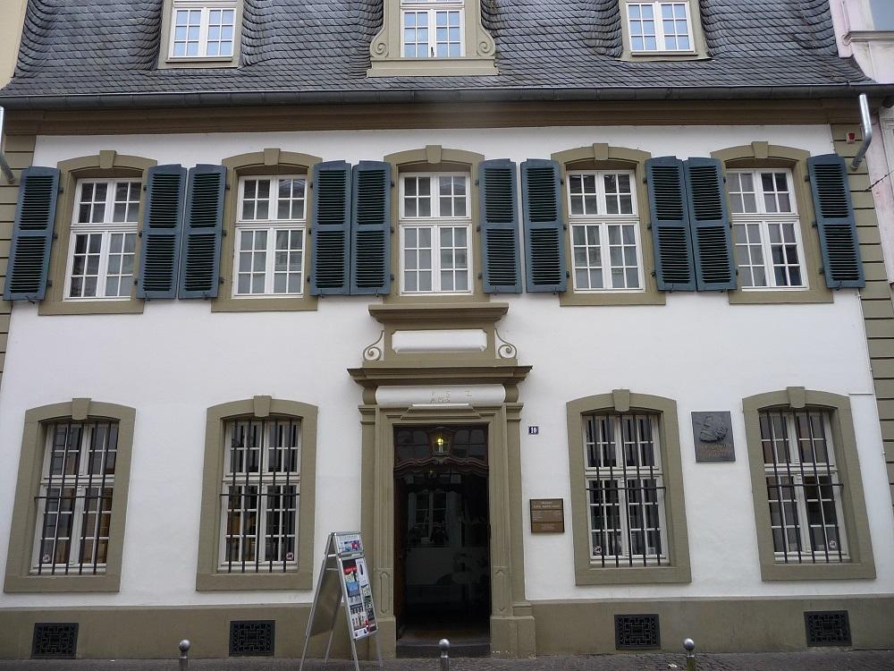 Trier, Sehenswürdigkeiten, Karl-Marx-Haus