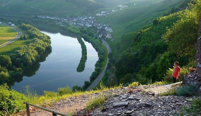 Mosel, wandern, Kletterweg, Erdener Treppchen