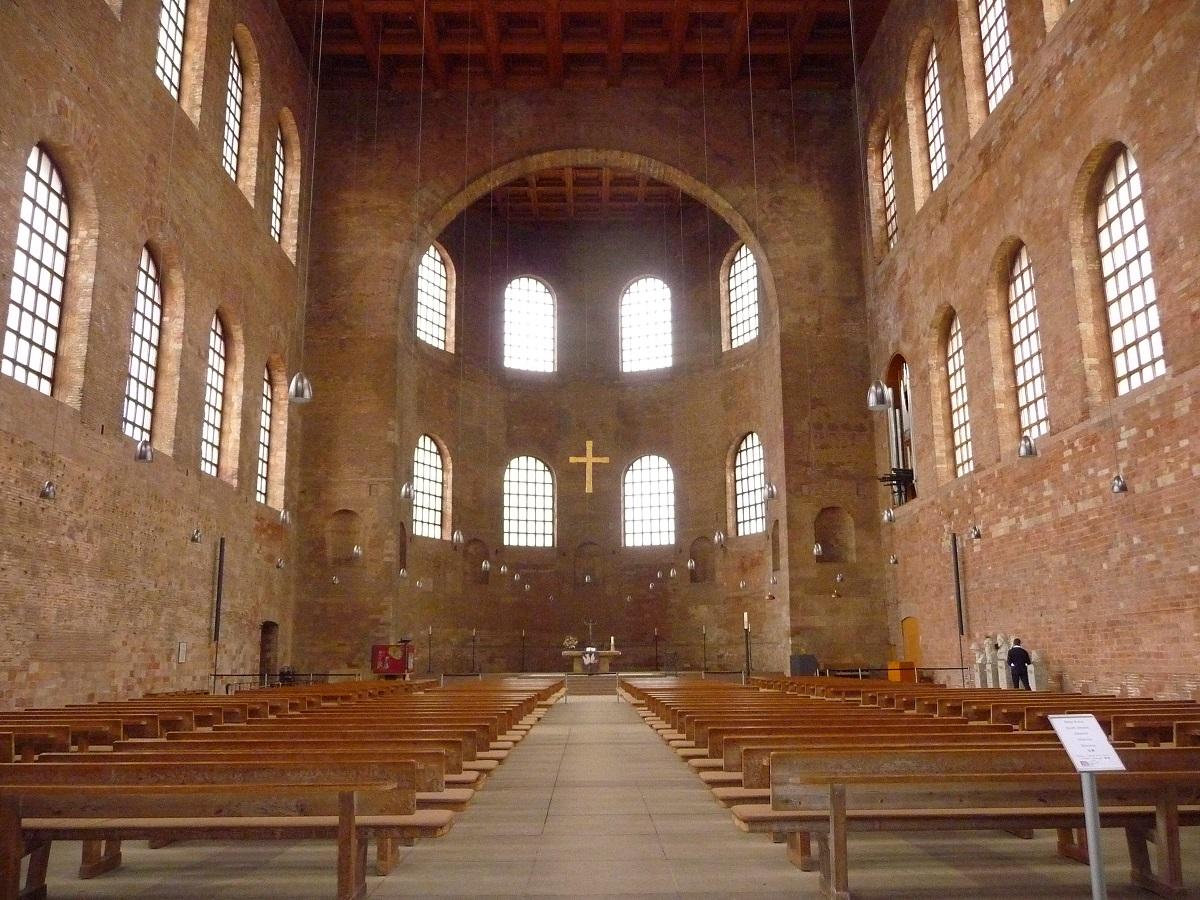 Kirchen, Konstantin-Basilika, Welterbe