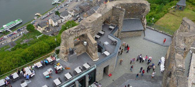Burg Landshut: Logenplatz über Bernkastel