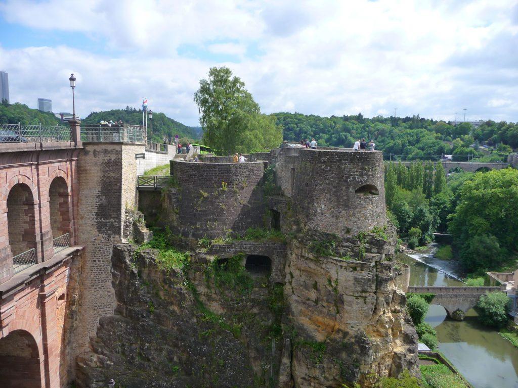 Luxemburg, Bockfelsen, Kasematten