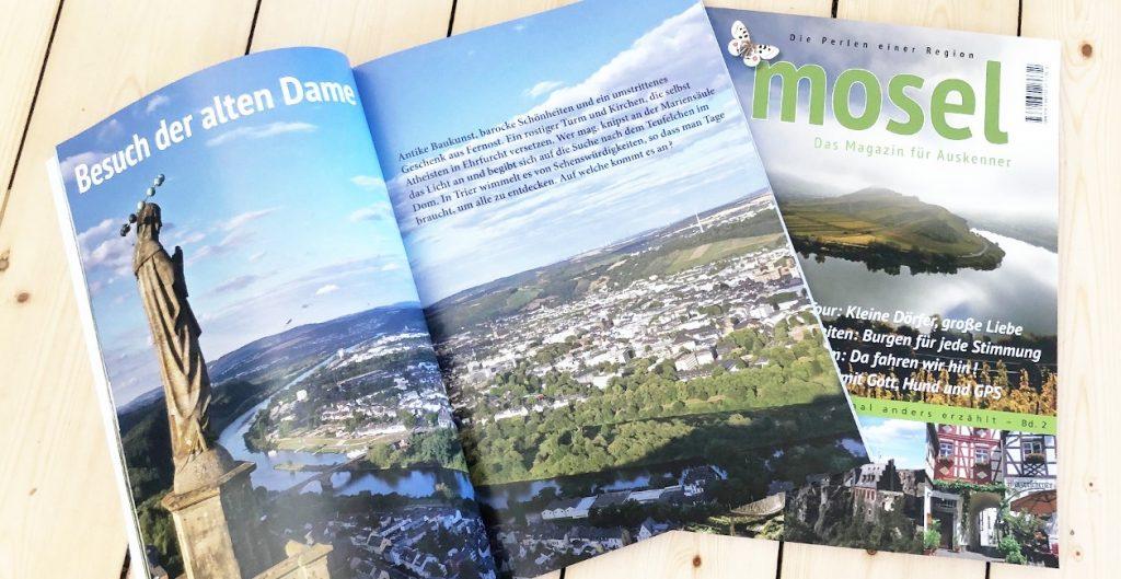 Mosel, Magazin für Auskenner, Inhalt