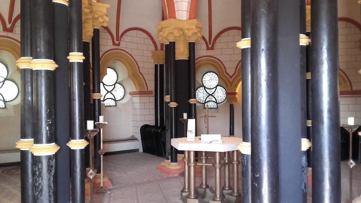 Matthiaskapelle, Säulen, Kobern