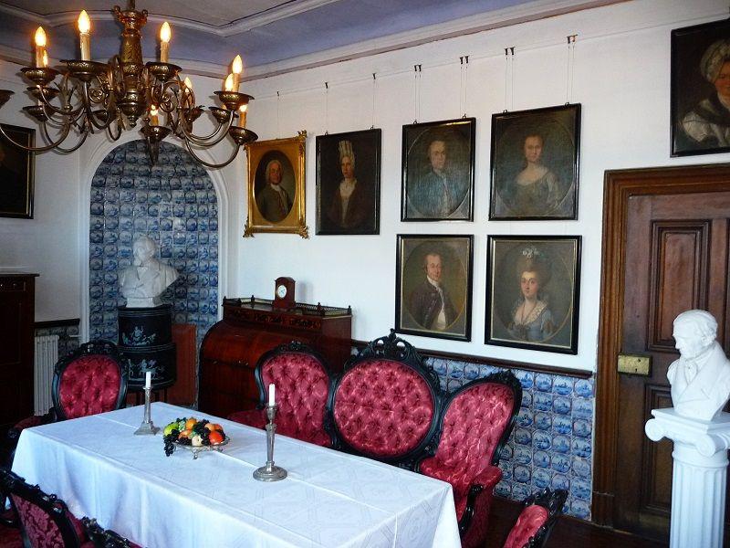 Speisesaal der Villa Böcking im Mittelmosel-Museum