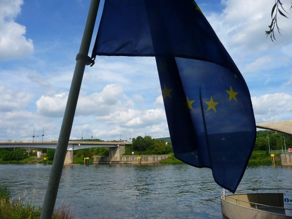 Mosel. Fluss, Verlauf, Schengen