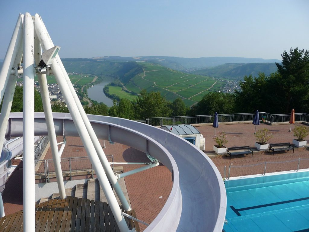 Mosel, schwimmen, Panoramabad