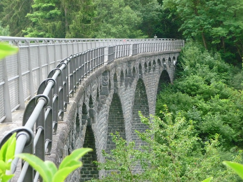 Maare-Mosel-Radweg, Eifel, Dauner Viadukt